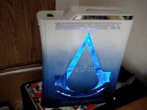 Modded Xbox 360 -Assassins Creed Console- - YouTube