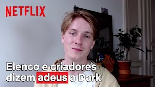 Elenco e criadores se despedem de Dark | Netflix Brasil