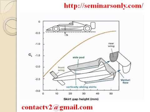 Aerodynamics of Race Cars : Seminar Report : Seminar Topics : PPT