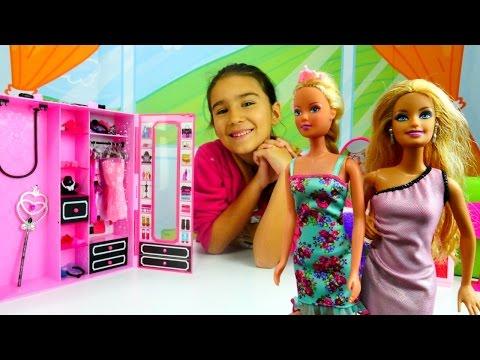 Barbie için saç bakımı ve kuaför oyunu