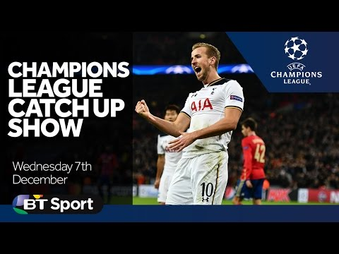 Champions League Catch Up Show   Goals and Highlights   Spurs  Leicester  Real Madrid  Dortmund New Flash Game