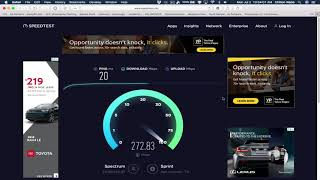 Is Spectrum detecting speed tests?