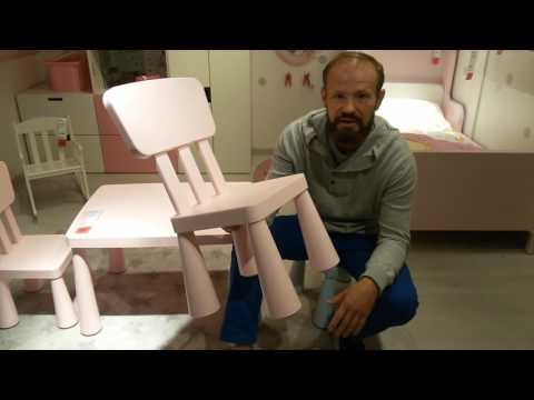 Детские пластмассовые стулья