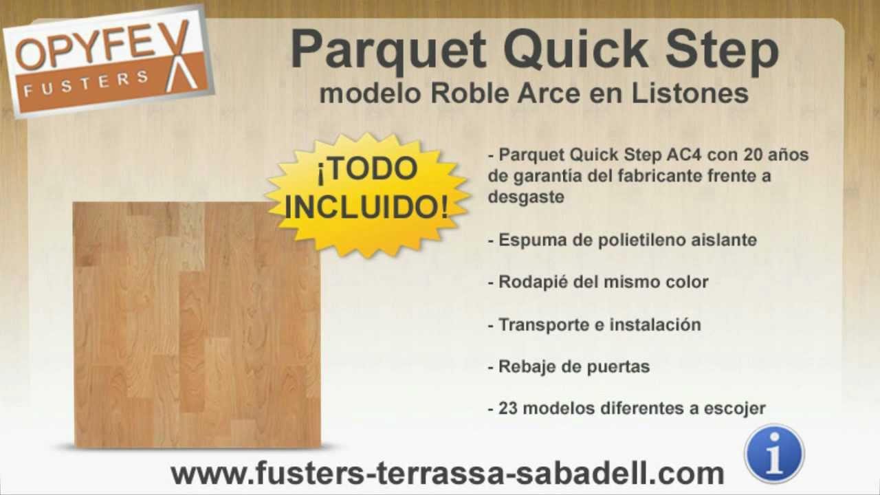 Oferta parquet quick step en barcelona carpinteros opyfex - Carpintero en barcelona ...