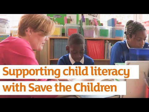 Supporting child literacy with Save the Children | Sainsbury's