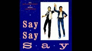 Paul McCartney and Michael Jackson - Say Say Say (Special Version)