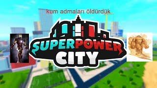 💥 SANDMEN KILLED 💥 [ Superpower City ] Roblox Auf Türkisch