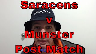 Saracens v Munster Post Match Reaction