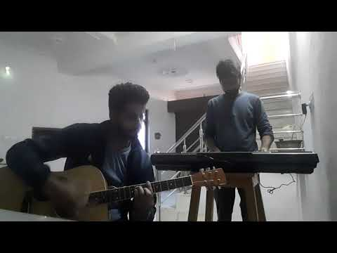 Sapna jahan ,brothers piano and guitar covered..