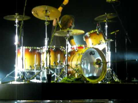 Foreigner - drum solo (Brian Tichy) - Live in Saint-Petersburg