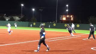 Audrey Triple vs Byron Nelson District HS Game 2/27/18
