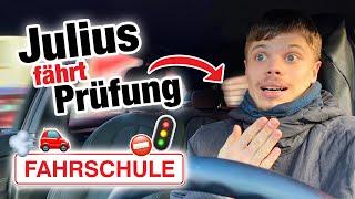 Praktische Führerscheinprüfung mit Julius  | Fischer Academy