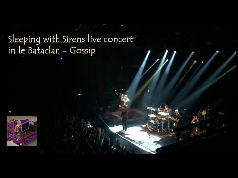 Sleeping with Sirens live concert Paris 2017 le Bataclan - Gossip