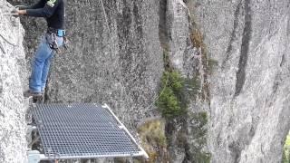 El Tarzan Swing - Via Ferrata - Mineral del Chico, Hidalgo