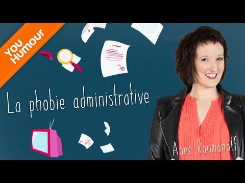 ANNE ROUMANOFF - La phobie administrative