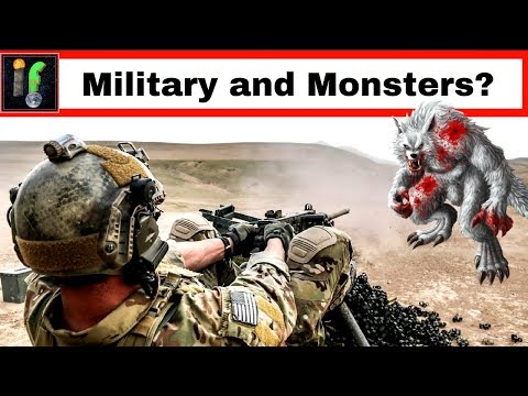 Military and Monsters 'IF' The Armed Forces Battled these Beasts?