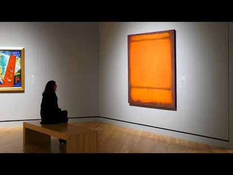 Rothko, No. 210/No. 211(Turuncu) (Müzeler ve İçerik Ortaklarımız) (Modern Sanat Müzesi (MoMA))