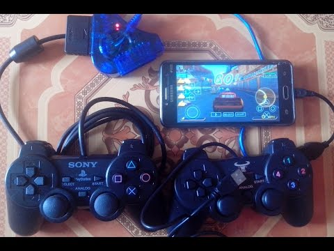 Cara Main Games PS1 Dan PSP Di Android Menggunkan Stik PS2