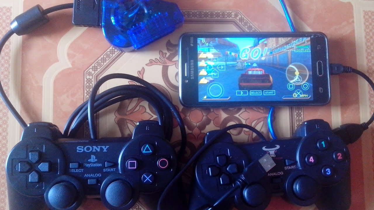 Cara Main Games PS1 Dan PSP Di Android Menggunkan Stik PS2 ...