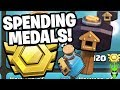 "SPENDING MY CLAN WAR LEAGUE MEDALS! 🤑 - ""Clash of Clans"""