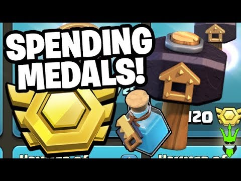 SPENDING MY CLAN WAR LEAGUE MEDALS! 🤑 -