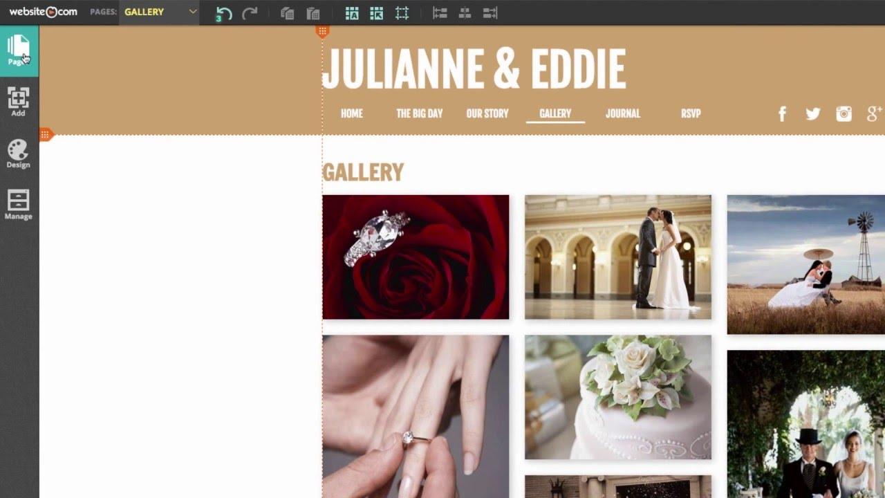 Create A Wedding Website.Create A Wedding Website Step By Step Tutorial