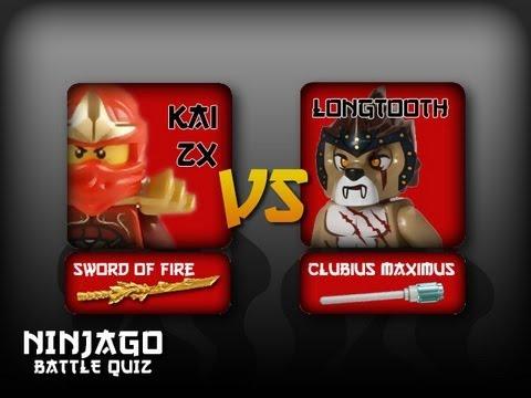 Chima special kai zx vs longtooth ninjago battle quiz - Ninjago kai zx ...