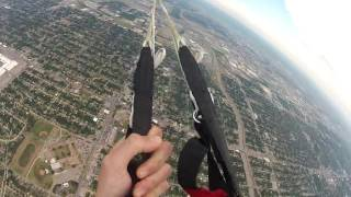 Skydiver Loses Parachute During Flight by : Storyful News