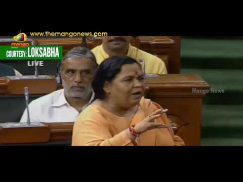 Sushmita Dev Raises Question Over Jal Marg Vikas Scheme | Uma Bharti | Lok Sabha | MangoNews