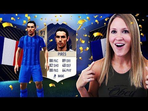 I GOT 91 ICON PIRES!! FIFA 18 ULTIMATE TEAM