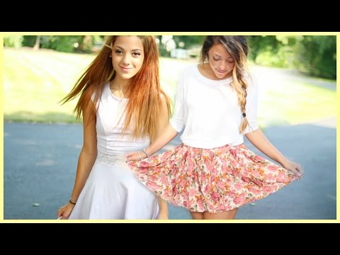 Pretty Summer Outfit Ideas With NikiAndGabiBeauty!