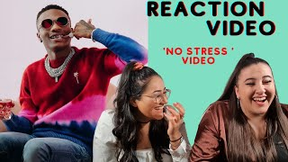 Just Vibes Reaction / *OFFICIAL MUSIC VIDEO* Wizkid - No Stress / MADE IN LAGOS ALBUM