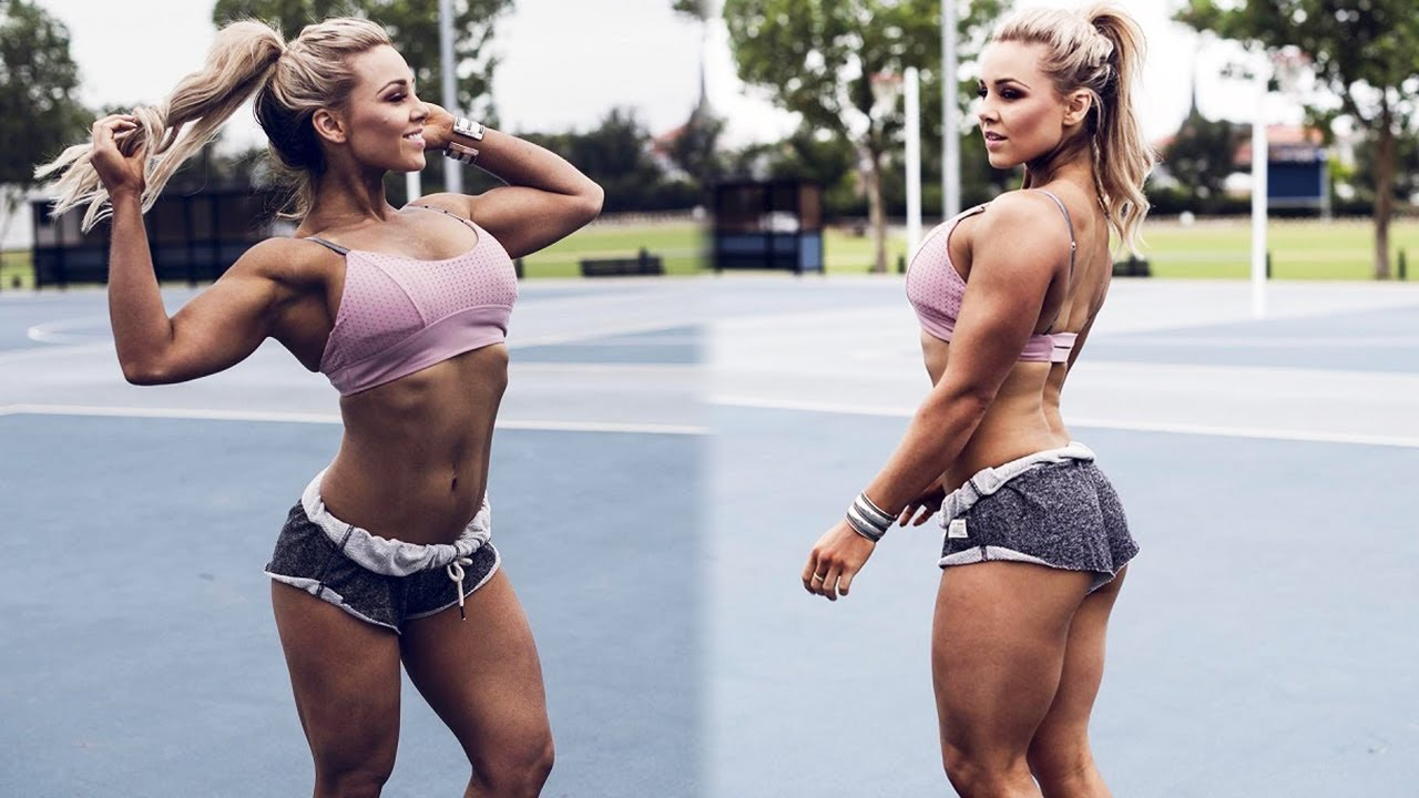 Stephanie Sanzo - The Most Beautiful Girl in Fitness