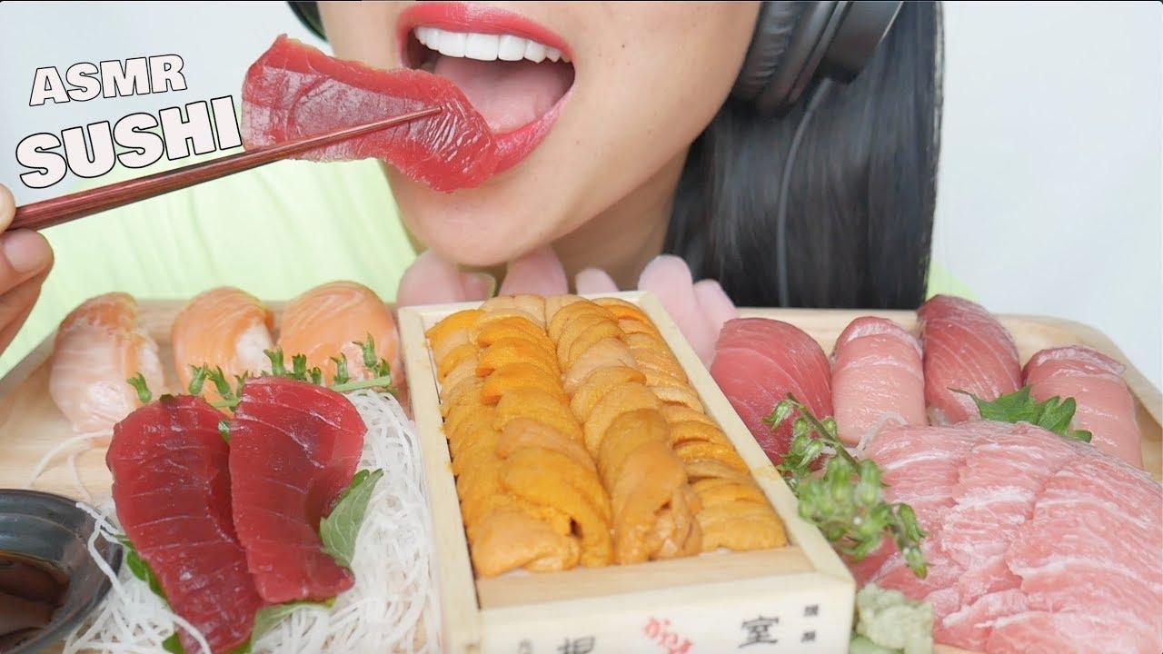 Asmr Sushi Uni Sashimi Nigiri Eating Sounds No Talking Sas Asmr Youtube Watch the best short videos of sas asmr(@ssas_asmrr). asmr sushi uni sashimi nigiri eating sounds no talking sas asmr