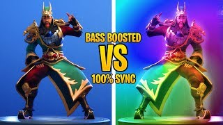 "FORTNITE HEADBANGER Emote WITH ""RAP"" Music (BASS BOOSTED)"