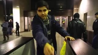 Как пройти в метро без карты/бесплатно