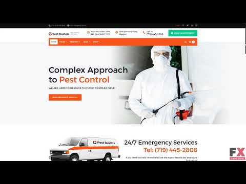 Pest Busters Pest Control Wordpress Theme Tmt Review By