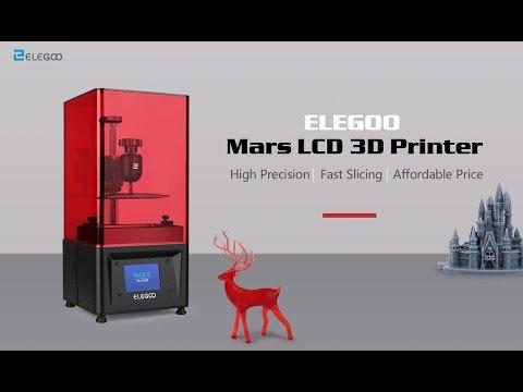 Elegoo, MARS LCD 3D printer