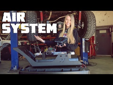 We Install Air Compressors UNDER Our Jeep Wrangler JLU Rubicon