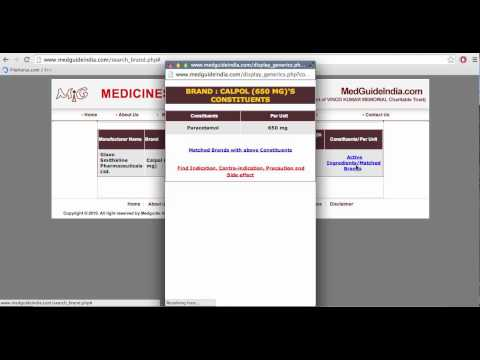 How to Search Generic Medicine