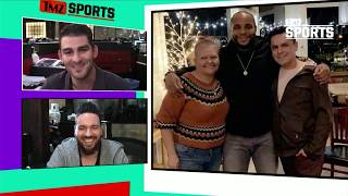 Daniel Cormier Picks Up $300 Restaurant Bill For Woman Battling Cancer | TMZ Sports