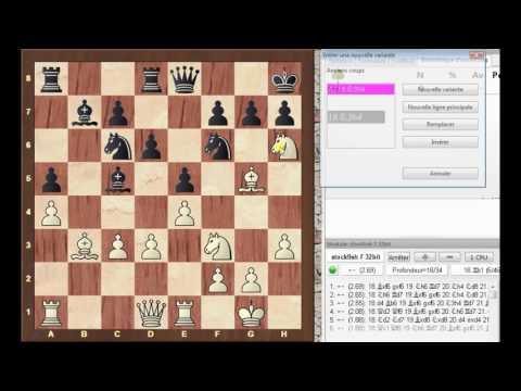 Vidéo 6  -  Partie Caspalov - Emerald Classic (Novag 2250 Elo US)