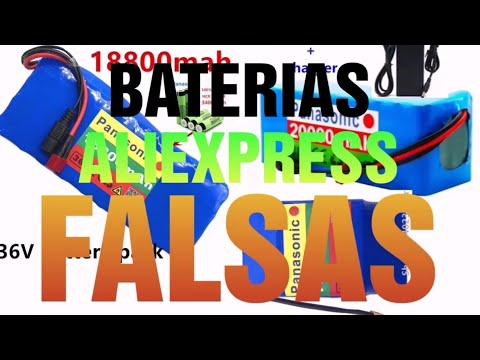 BATERÍAS ALIEXPRESS, antes de comprar una batería ve este vídeo.