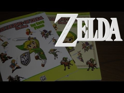 MC Gamer's Zelda Collection - Piano Sheet Music
