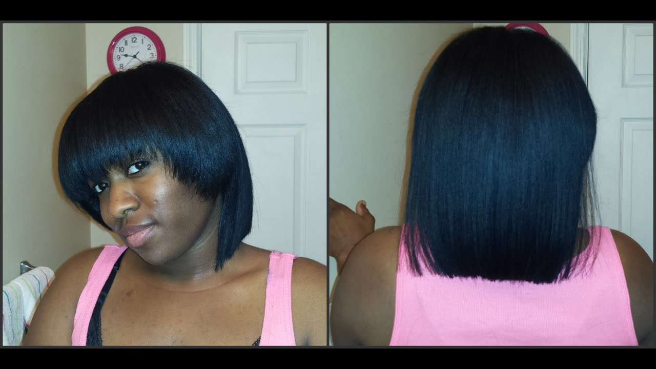 Relaxer Update Sept 2014 Plus I Cut My Hair 💇 Youtube