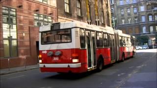 Trolleybus/O-bus in Budapest - троллейбус