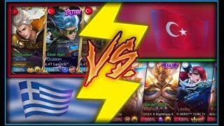 Mobile Legends- TÜRKİYE VS YUNANİSTAN ULUSAL MAÇ
