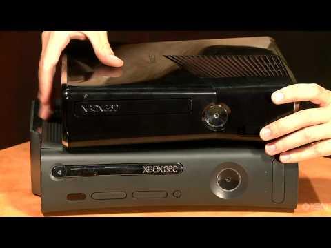 Xbox 360 Slim Comparison: New Vs  Old - YouTube