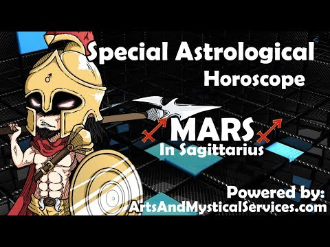"""MARS in SAGITTARIUS """"Acting On Inspiration"""" - Special Astrological Horoscope"""
