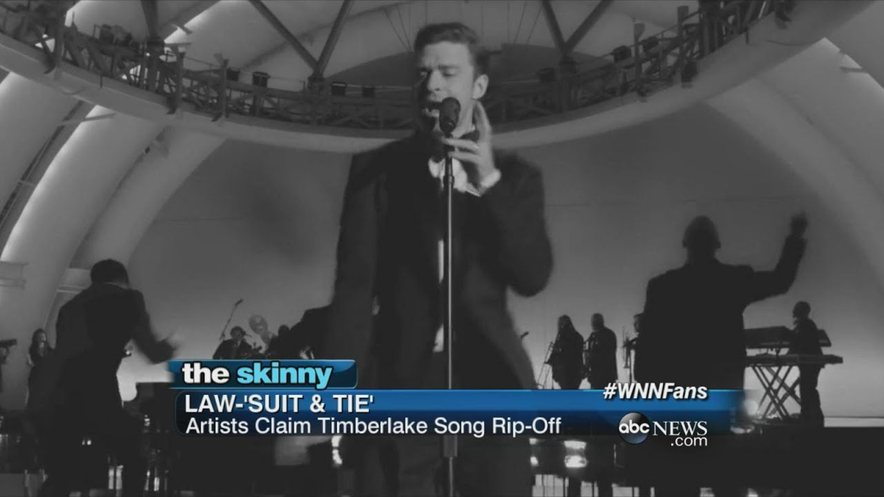 """Justin Timberlake's Record Label Sued for """"Suit & Tie"""" 